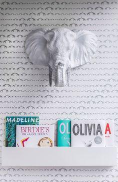 papel pintado elefante Nuevos Papeles Pintados para Niños