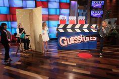 Ellen and Alison Sweeney play Guesstures