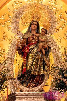 Virgen del Rosario de Fuengirola, Málaga.
