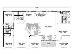 40x60 Floor Plan Floor Plans House Plans Metal Homes