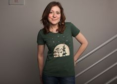 """$24 Open Neck    """"Reach For The Stars"""" - Threadless.com - Best t-shirts in the world"""