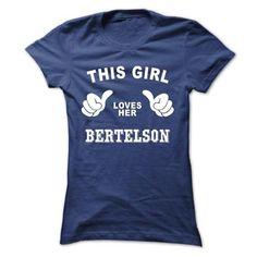 awesome I love BERTELSON T shirt, BERTELSON hoodie shirt