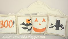 Halloween Pillow Covers | Lincoln Street