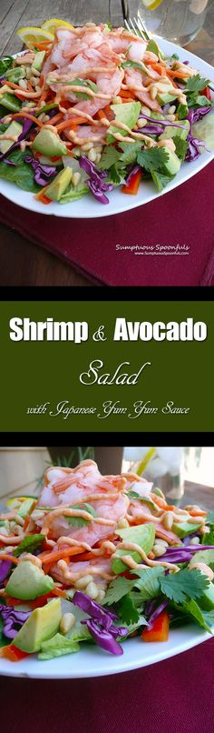 Shrimp & Avocado Sal