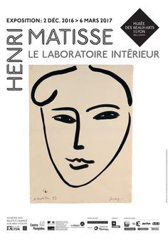 Exposition Henri Matisse, le laboratoire intérieur, du 2 décembre 2016 au 6 mars 2017.