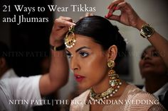 Ultimate post for desi brides on indian jewelry for the hair! Tikkas, jhoomers, and more.