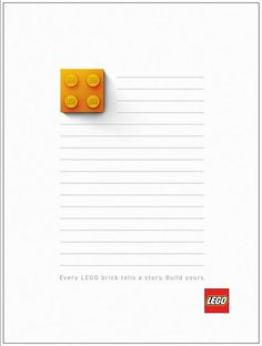 In Latest Ad Series, LEGO Leaves It To Your Imagination - DesignTAXI.com