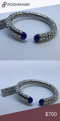 John Hardy Bracelet John Hardy Bracelet with gold dots and lapis John Hardy Jewelry Bracelets