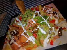 Chorizo & Chicken nachos #BlueAgave