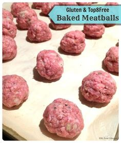 How to make meatballs without eggs oil egg free and egg allergy friendly meatballs gluten and top8free forumfinder Images