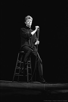 David Bowie Live At The Public Theater, 1995.