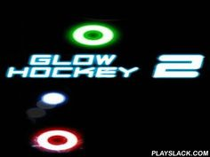 Glow Hockey 2  Android Game - playslack.com , compete sorb air hockey killed  in shinny neon colours. blow the fairy into the enemy's enclosure. compete against AI or other players. Practice and gain outstanding phenomenons in air hockey. specify from four effort levels of solo player or compete against your buddies. concepts and controls are easy but the gameplay is addictive.