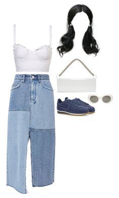 """""""Ryn and her personal assistant spotted in LA"""" by nytown ❤ liked on Polyvore featuring Ksubi, NIKE, Acne Studios, Vetements and Allurez"""