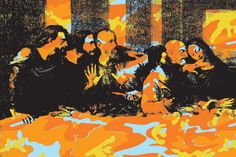 Andy Warhol, The Last Supper, 1986More Pins Like This At FOSTERGINGER @ Pinterest