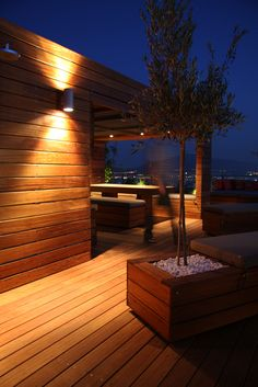 roof garden by mabarchitects , via Behance