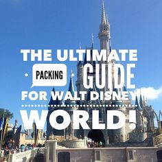 The Ultimate Packing Guide to a Walt Disney World Trip! Packing List For Disney, Disney World Packing, Packing Lists, Disney World Vacation, Disney World Resorts, Disney Trips, Walt Disney World, Packing List Template, Florida Weather