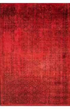 Rugs USA Reclaimed Vintage Neyla Overdye Red Rug