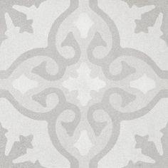 Encaustic Look Marrakech Anna Matte Porcelain Tile Ceramic Mosaic Tile, Ceramic Subway Tile, Marble Tiles, Wall Tiles, Porcelain Tiles, Encaustic Tile, Style Tile, Indoor Outdoor Living, Decorative Tile