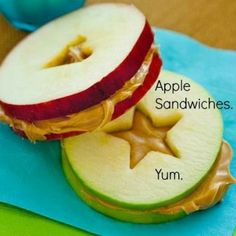 13 simple and healthy snacks for kids after school! - 13 simple and good .- 13 simple and healthy snacks for kids after school! – 13 simple and healthy snacks for kids after school! – Community table – the - Cute Food, Good Food, Yummy Food, Yummy Snacks, Baby Food Recipes, Snack Recipes, Healthy Recipes, Sandwich Recipes, Apple Recipes