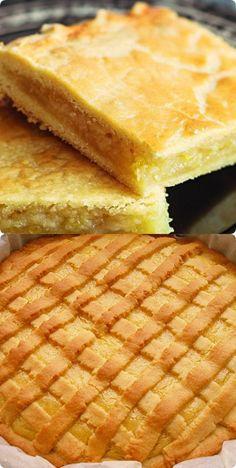 Песочный лимонный пирог. Выпечка, просто прелесть Cake Cookies, Bon Appetit, Cornbread, Bakery, Deserts, Dessert Recipes, Lemon, Food And Drink, Pie