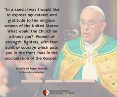 Pope Francis Legionaries Of Christ, Pope Quotes, Express My Gratitude, The Kingdom Of God, Pope Francis, Teaching, Education, Onderwijs, Learning