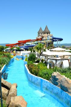 Aqua Action Park at Sunny Beach | Bulgaria Connor spent ages just floating round the lazy river