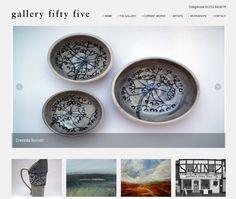 Gallery Fifty Five Website