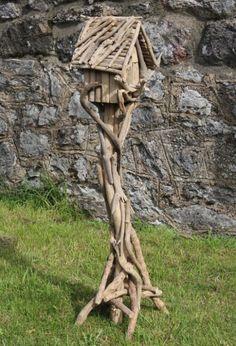 Genuine Handmade Large Driftwood Bird House | Fair Trade Gift Store | Siiren