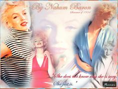 Baron Nahum (Scotland 1906) - Marilyn Monroe 1954 - cover page of photo series shot at a garden in North Rodeo Drive