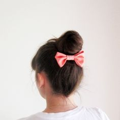 Three easy bun tutorials tested for long straight hair. Perfect for a bad hair day!
