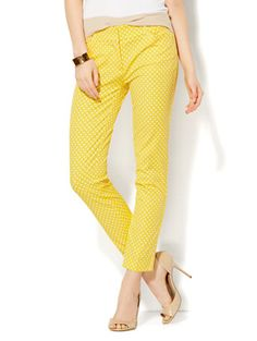 Shop The Audrey Ankle Pant - Polka Dot. Find your perfect size online at the best price at New York & Company.