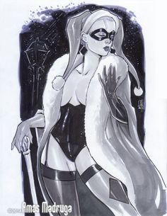 Harley Quinn by Amos Madruga