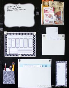 DIY Family Command Center I Heart Nap Time | I Heart Nap Time - Easy recipes, DIY crafts, Homemaking