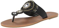 XOXO Women's Razzy Flip Flop * Additional details at the pin image, click it  : Flip flops