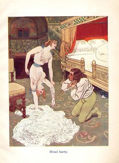 """Artus Scheiner - Illustration from """"Fairy Tales For Adults"""" written by Jean Qui Rit"""