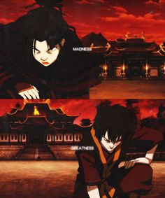 """Azula v Zuko: """"Madness and greatness were two sides of the same coin and every time a new Targaryen was born, the gods would toss the coin in the air and the world would hold its breath to see how it would land."""" A Song of Ice and Fire / Avatar: The Last Airbender"""