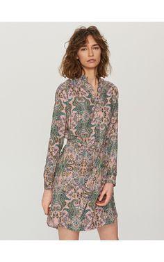 Sukienka we wzory, Nowa kolekcja, wielobarwn, RESERVED
