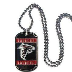 Atlanta Falcons Necklace Tag Style
