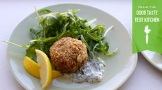 Rye-and-Salmon Cakes