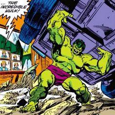 Marvel Comics Superheroes, Hulk Marvel, Marvel Heroes, Marvel Art, First Hulk, Gesture Drawing Poses, Giant Monster Movies, Hulk Movie, Planet Hulk