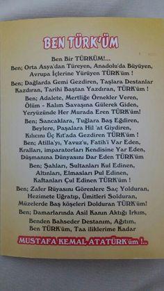 Ne mutlu Türk'üm diyene!