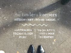 Have you seen these little signs around the city this week? Finders Keepers Markets are back this weekend for yet another huge event! It's a short week this week and we've sorted your weekend out for you. You can thank us later..