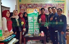 Bank Sampah Melati Bersih: Kunjungan Tamu dari Mahasiswa UIN Syarif Hidayatul... Jakarta, Penguin, Penguins