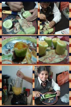 snack pepino mango de Xime♡