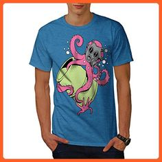 Octopus Cartoon Fantasy Men XXXXL T-shirt | Wellcoda - Animal shirts (*Partner-Link)