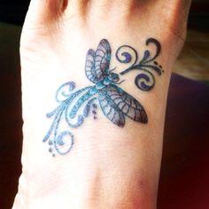 My Foot Tattoo