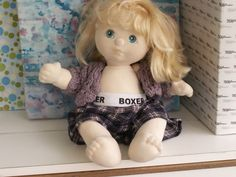 "MATTEL MY CHILD BLONDE 14"" BABY VINTAGE 1985"