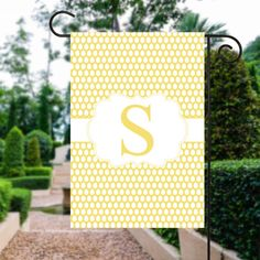 Easter Flags  Personalized Easter Garden Flag by TheInspiredStudio