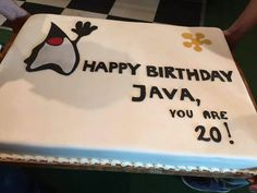 Happy birthday, Java!