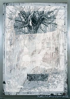 What would happen if you use bleach on a picture! From the Bleacher Series: Chinese Tree Robert Rauschenberg, Modern Art, Contemporary Art, Contemporary Printmaking, Abstract Expressionism, Abstract Art, Mark Rothko, James Rosenquist, Nam June Paik